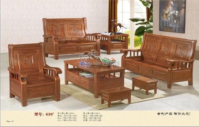 Wooden furniture sofa set photo for Good furniture brands for living room furniture