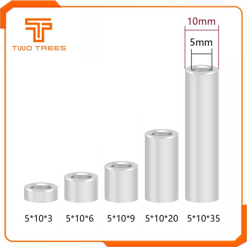 50pcs Mini V Wheel Precision Shim 5x8x1mm For Openbuilds