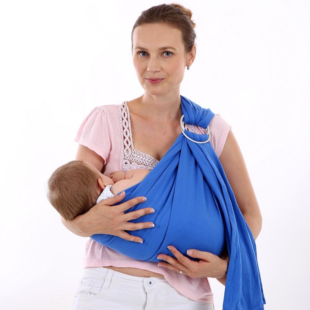 EGMAO Berguna Cincin Katun Ergonomis Hipseat Bayi Kanguru Sling untuk - Aktivitas dan peralatan anak anak - Foto 3