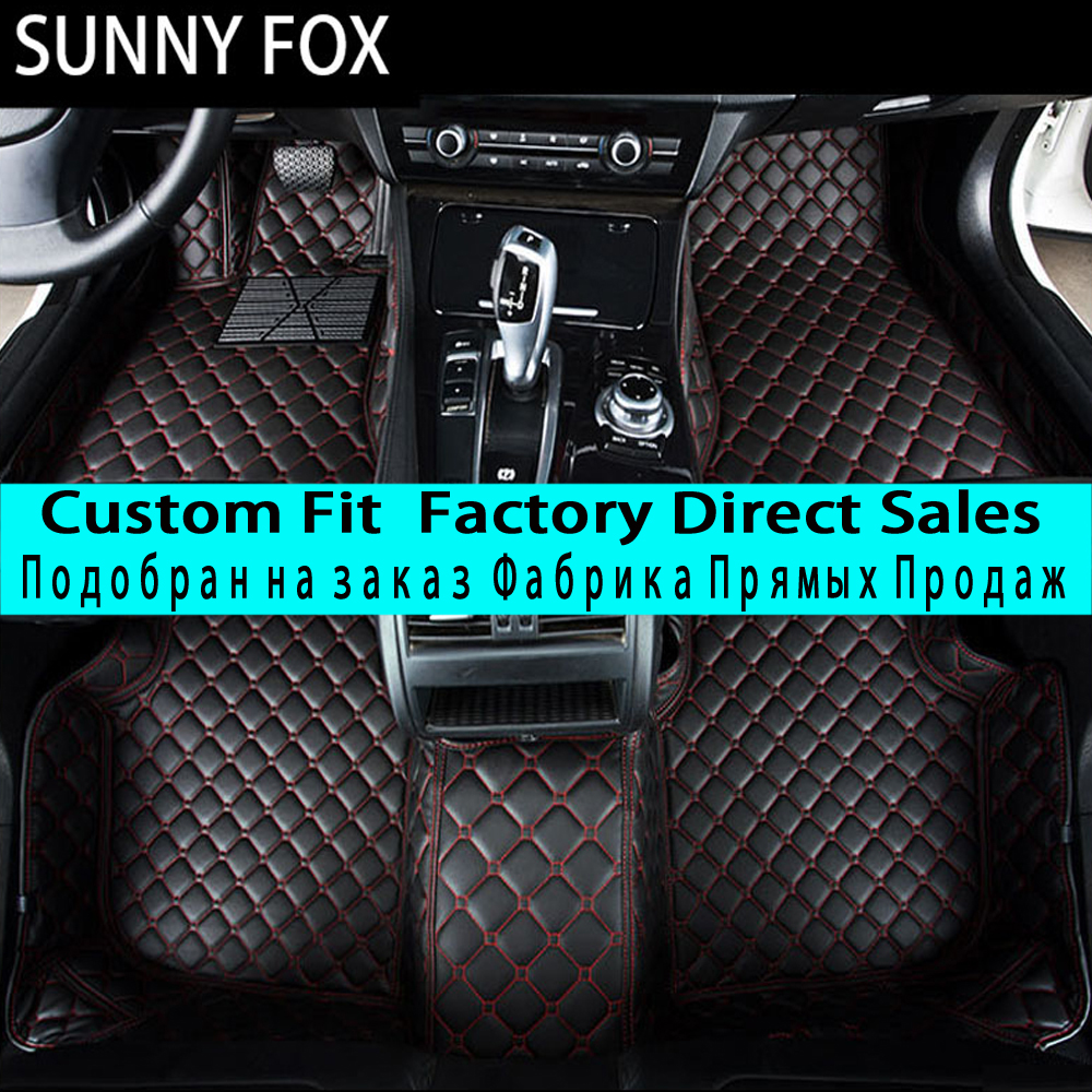 SUNNYFOX Car floor mats for Honda Accord 7th 8th 9th generation 5D all weather car-styling carpet rugs floor liners(2003-)SUNNYFOX Car floor mats for Honda Accord 7th 8th 9th generation 5D all weather car-styling carpet rugs floor liners(2003-)