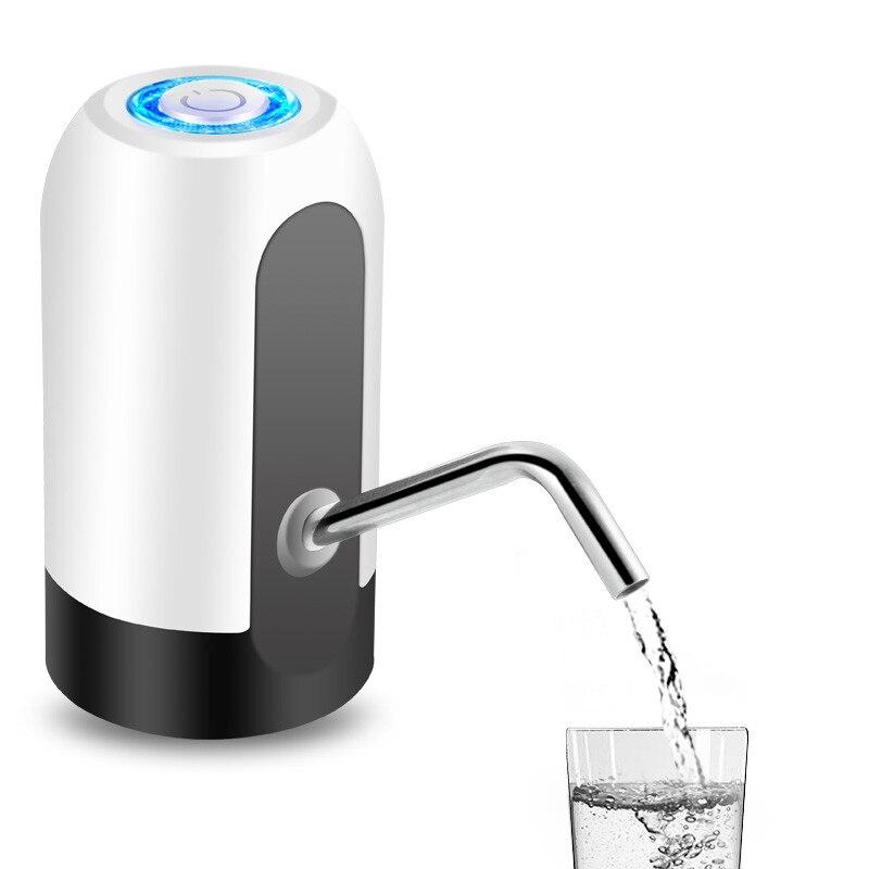 Pumpe für Wasser Flasche Elektrische Pumpe Usb Aufladbare Trinkwasser Dispenser Kreative Flaschen Wasser Pumpe Drink Küche Werkzeug