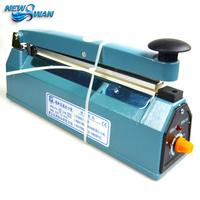 PFS 200 Impulse Quick Rapid Plastic PVC Bag Sealing Machine Sealer for Food Medical Packaging Packing Manufacturing Industry