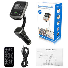 High Quality    LCD Car Bluetooth MP3 Player SD USB Remote FM Transmitter Modulator For Phone TR