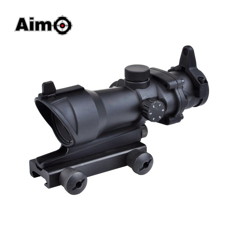 Aim-O trijicon ACOG 1x35 Hunting Red Green Dot Sight Scope Tactical Riflescope For Air Rifle AO5015