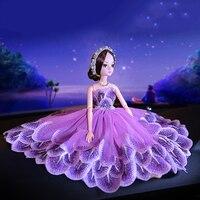 Beautiful Car Dolls Wedding Dress Dolls Toy Model Lovely Car Ornaments Interior Auto Decoration Accessories Girls Women