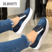 Women Flats Shoes Denim Loafers Casual S