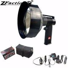 HH6 12 в 100 Вт галогенные охотничьи ручные прожекторы 1000ЛМ 150 мм охотничий фонарик для катания на лодках, открытый прожектор или прожектор, морская лампа