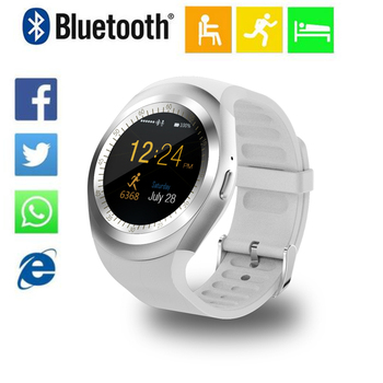 Y1 Smart Watch Support Nano SIM Card and TF Card Smartwatch Wearable Smart Electronics Stock For iOS Android samsung smart watch meanit m5