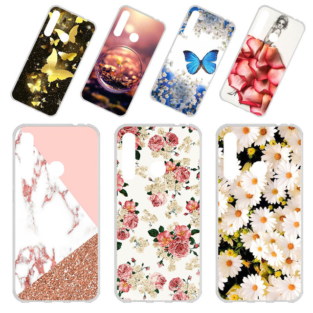 Phone Case sFor Huawei Honor 10i Cases Silicone Flexible Bumper On the For Huawei Honor 10i Cover Fundas Coque Soft TPU DIY Capa