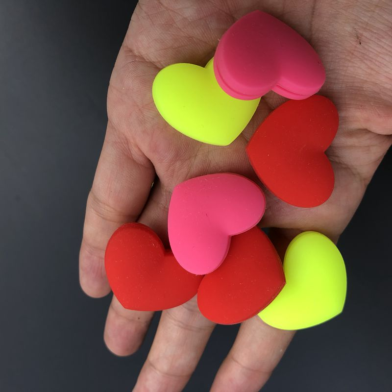 50 Pcs Cute Heart Sharapova Tennis Damper Shock Absorber To Reduce Tenis Racquet Vibration Dampeners