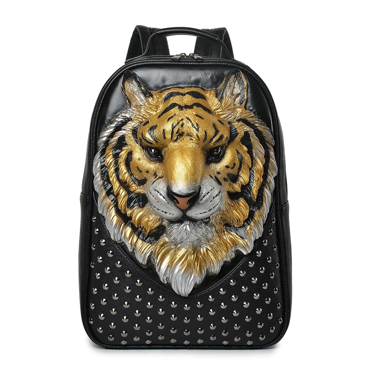 Mode Tigre Sac À Dos pour Extérieur Grande Capacité sac à dos pour ordinateur portable sac À Dos De Luxe