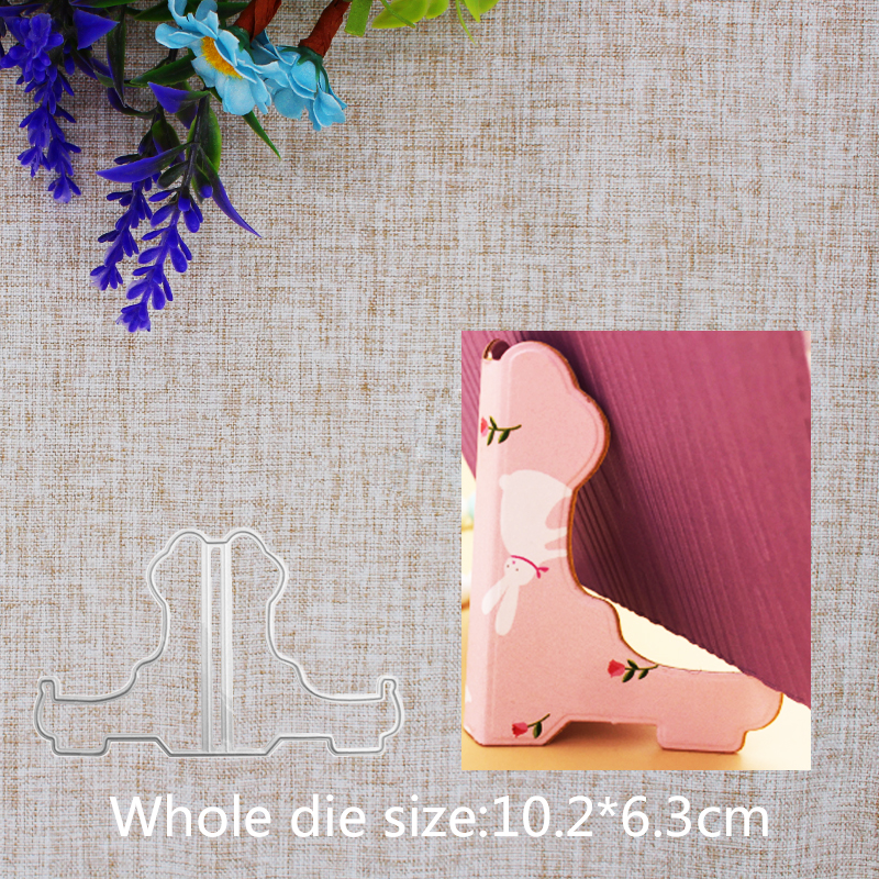 New Arrival Exquisite Display Stand Cutting Dies Stencil DIY Scrapbook Photo Album Embossing Decor Paper Card Craft 102x63mm