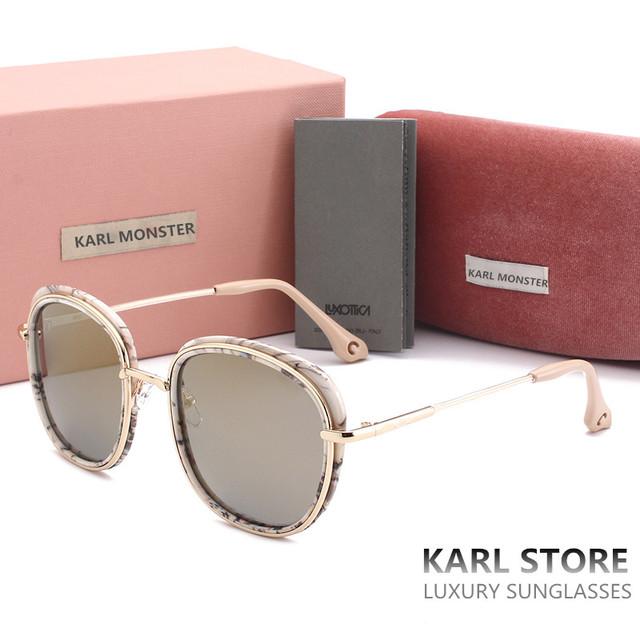 Italy Marca De Luxo Óculos De Sol das mulheres de Cor revestido lentes de óculos de Sol Da Moda mulheres Marca Designer Retro Óculos De Sol Com Logotipo 2017