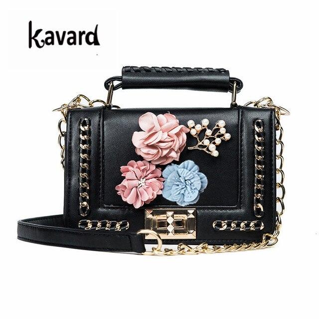 Kavard Mini Bead bolsa das mulheres saco saco de praia bolsas mulheres famosa marca de luxo designer saco Crossbody para as mulheres 2017 sac um principal