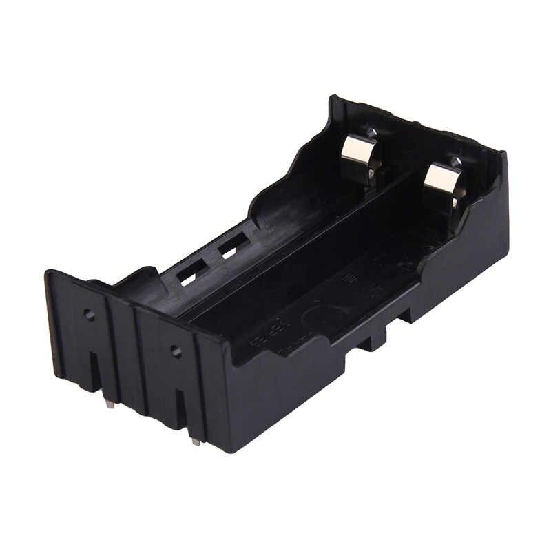 1 szt. 18650 pojemnik na baterie 1 2 3 4 gniazdo pojemnik na baterie do DIY Powerbank akumulator z twardym trzpieniem