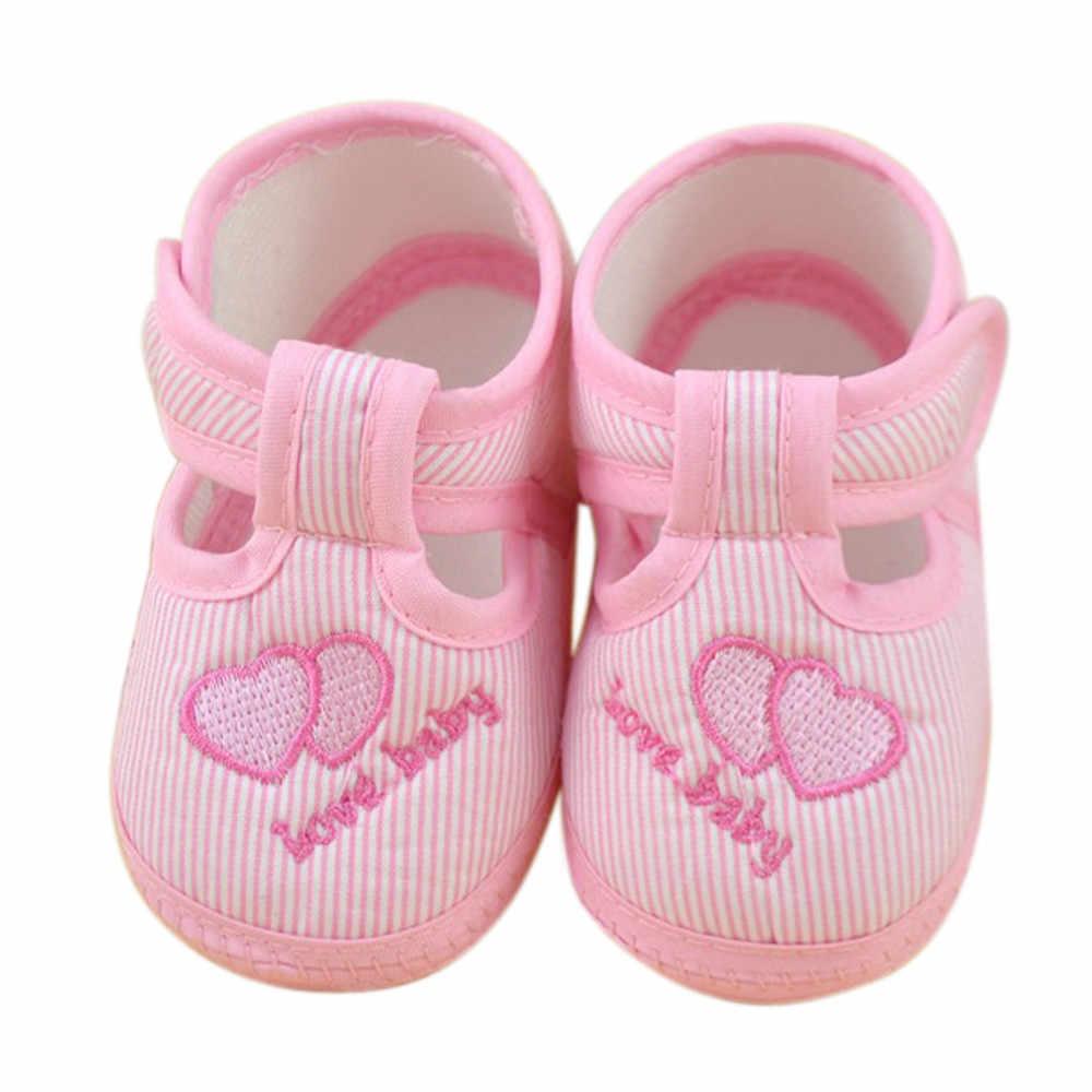 Zapatos de chica de bebé recién nacido niña Niño de suela suave cuna Zapatos Zapatillas de lona de moda pero tu dziewczynka1.744