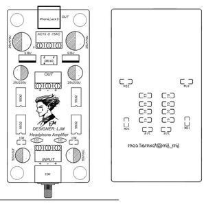 Image 4 - P7 SE 15V di Bordo Preamplificatore Amplificatore Per Cuffie Bordo Finito