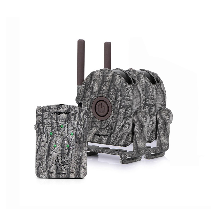 Wireless Alarm System Kits 5pcs/2pcs Infrared Detector + 1pc Receiver 300M for IR Hunting Animal Trail Wild Trap Home Security 8