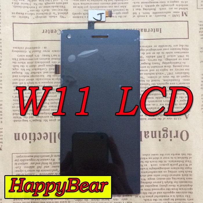 imágenes para Original LCD Pantalla + Touch Screen Reemplazo del Conjunto Para THL W11 vivienda Asamblea S5003 Dns
