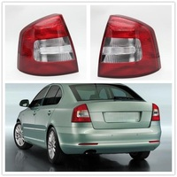 Real Light For SKODA Octavia A6 For RS 2009 2010 2011 2012 2013 Car styling New Car Rear Lights Tail Light