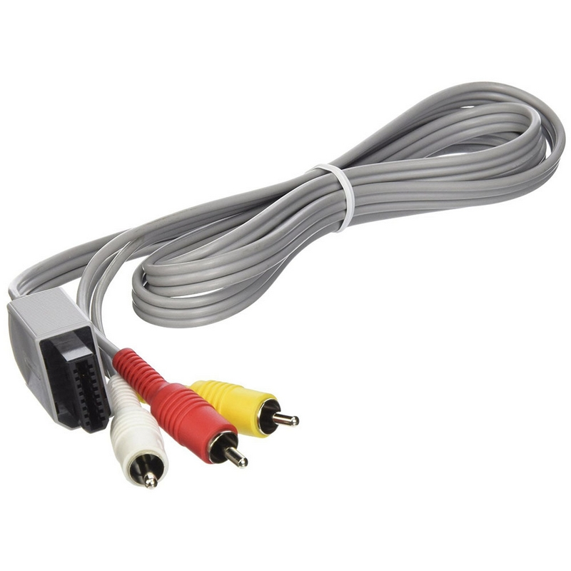 RV77 AV Composite Cable 1.8M Compatible With Nintendo Wii U-in ...