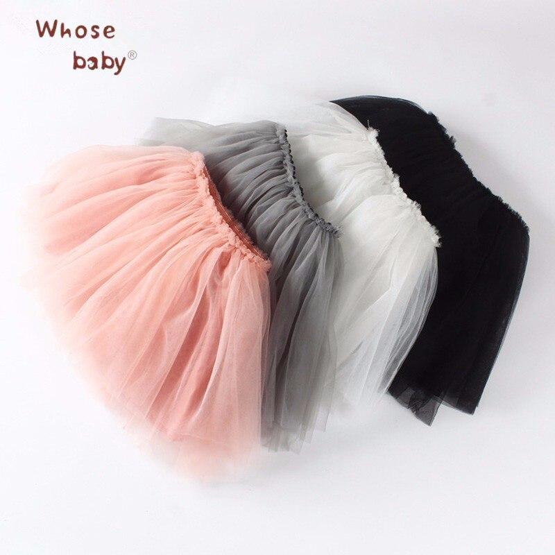 Baby Girl Net Veil Skirt Kids Cute Princess Clothes Birthday Gift Toddler Ball Gown Party Kawaii TUTU Skirts