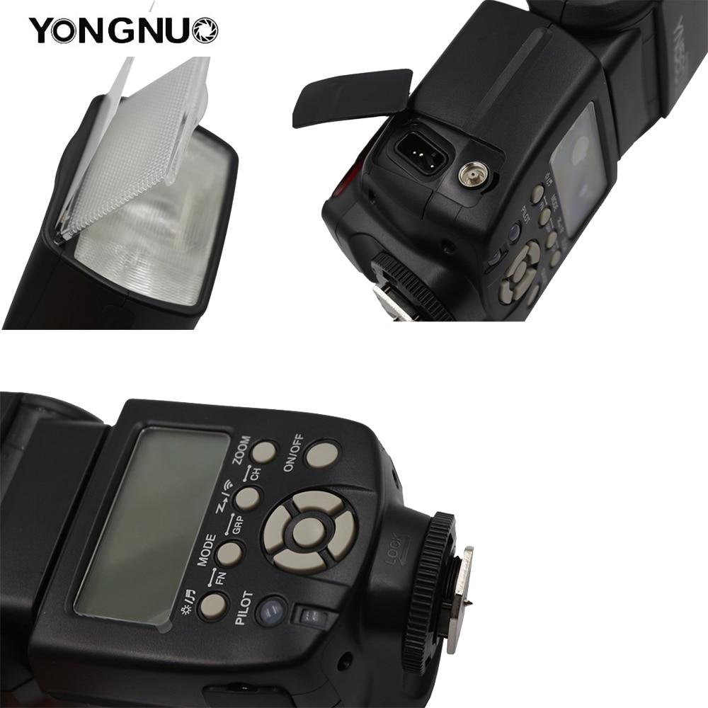 YONGNUO YN560III YN560-III YN560 III Flash sans fil Speedlite pour appareil photo Canon Nikon Olympus Panasonic Pentax - 6