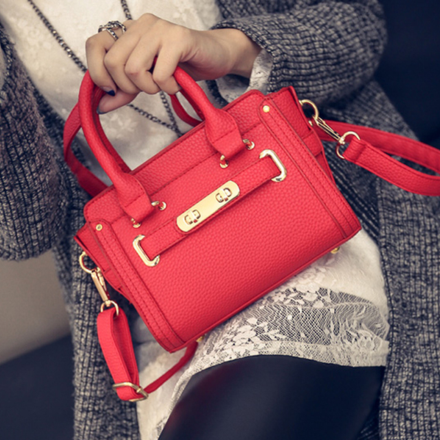 kate 6 color brand new  women messenger bags small shoulder bag high quality PU leather tote bag small clutch handbags