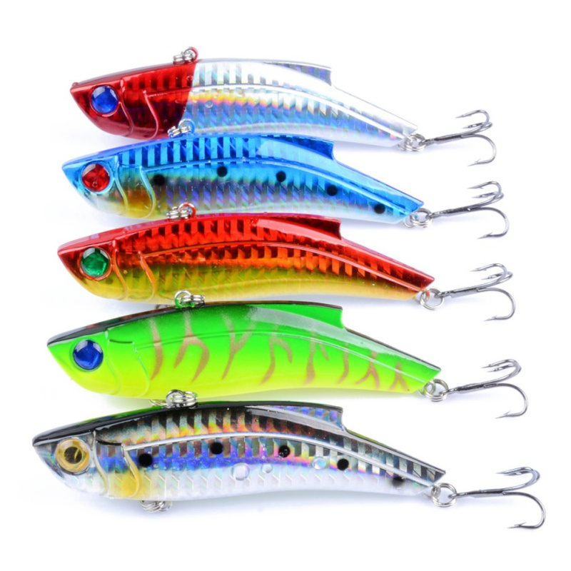 Long Cast deep running spinners Bait Fishing Lure Fishing Tackle Artificial Hard Fake Fish Bait Painting Series Whole Swimming