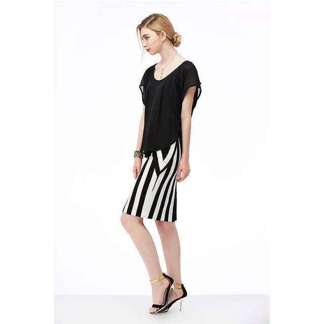 Naked Zebra Women Solid Color Lace Sleeveless Blouse Sexy