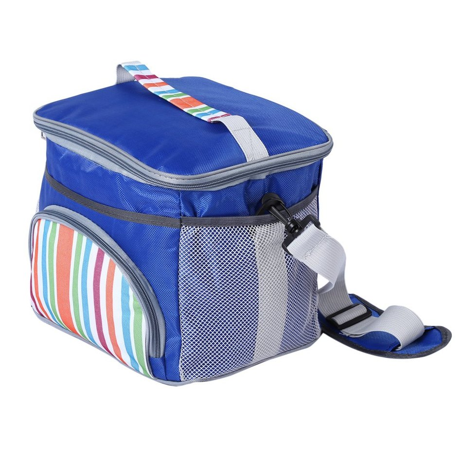 School bag box type - 3 Colors Expandable Insulated Food Storage Bag Lunch Picnic Container School Outdoor Camping Dinner Box