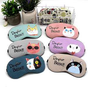 a93058d40 1 pc Cartoon Sleeping Mask Cotton Eye Patch Cover