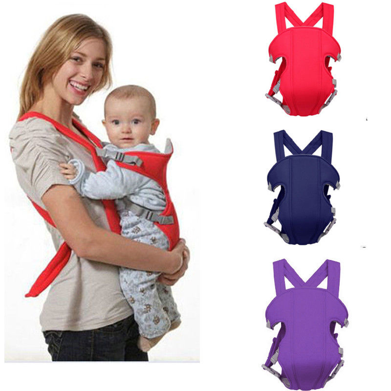 Baby Carrier Infant Newborn Adjustable Sling Comfort Backpack Buckle Sling Wrap