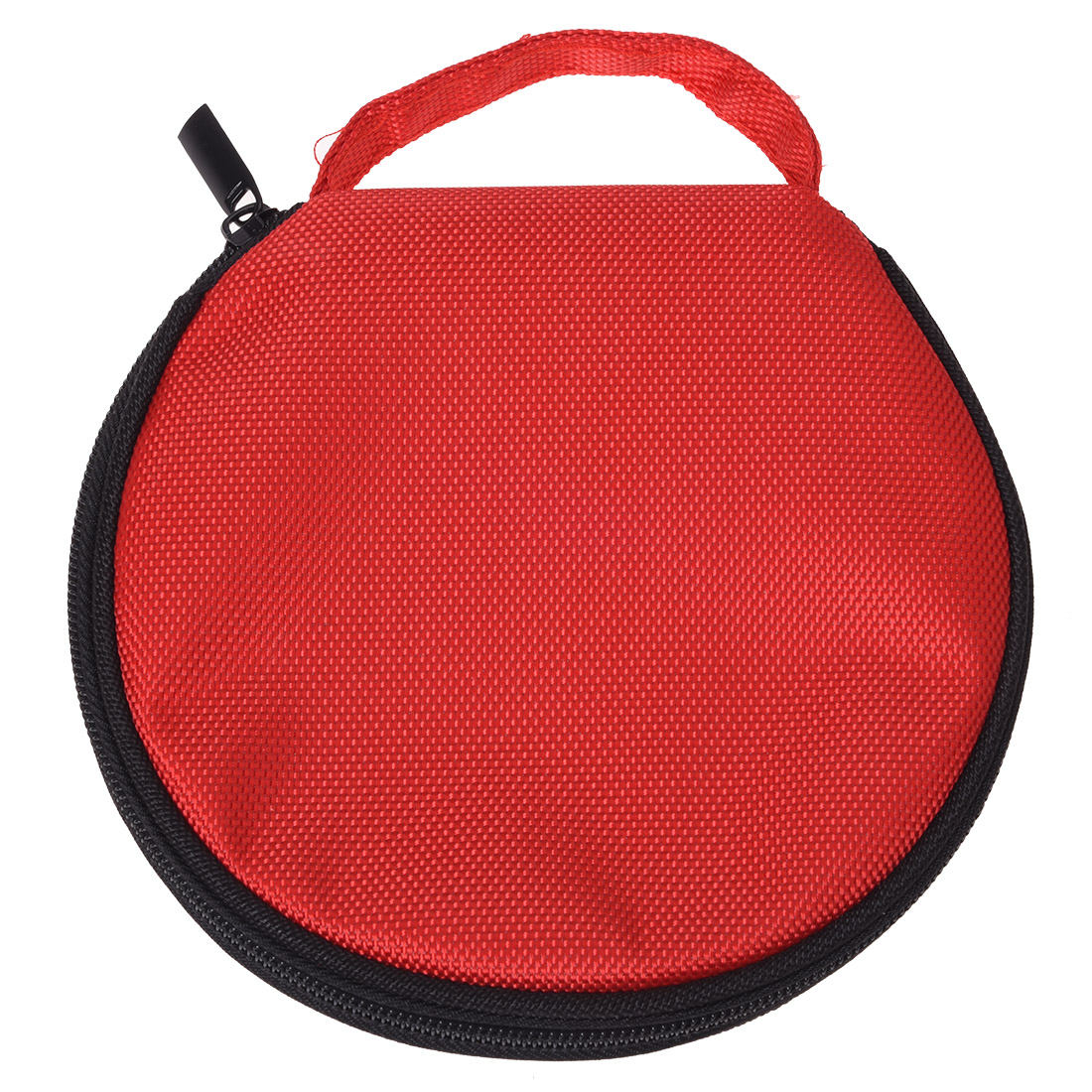 HFES New Hand Carrying Hold 20 CD Discs Zipper Closure Holder Bag Red