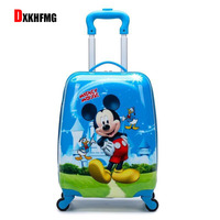 Fashion ABS Waterproof Kids Luggage Set Hello Kitty Women Suitcase Maletas De Viaje Con Ruedas Envio Gratis Carry on Luggage