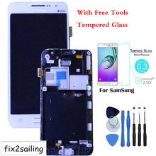 High Quality LCD Display Touch Screen Digitizer Frame Replacement For Samsung Galaxy Grand Prime SM G530