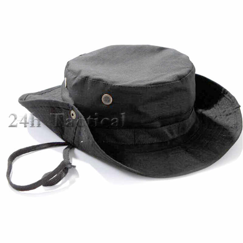71104ff61d1 ... Tactical Airsoft Sniper Multicam Boonie Hat Camouflage Military Army Cap  Hunting Accessories ...