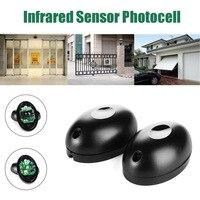 12 V veya 24 V Aktif Fotoelektrik Tek bir 1 kızılötesi ışın sensörü Bariyer Dedektörü için Kapı Kapı Pencere hırsız alarmı sistemi Sensör ve Dedektör    -