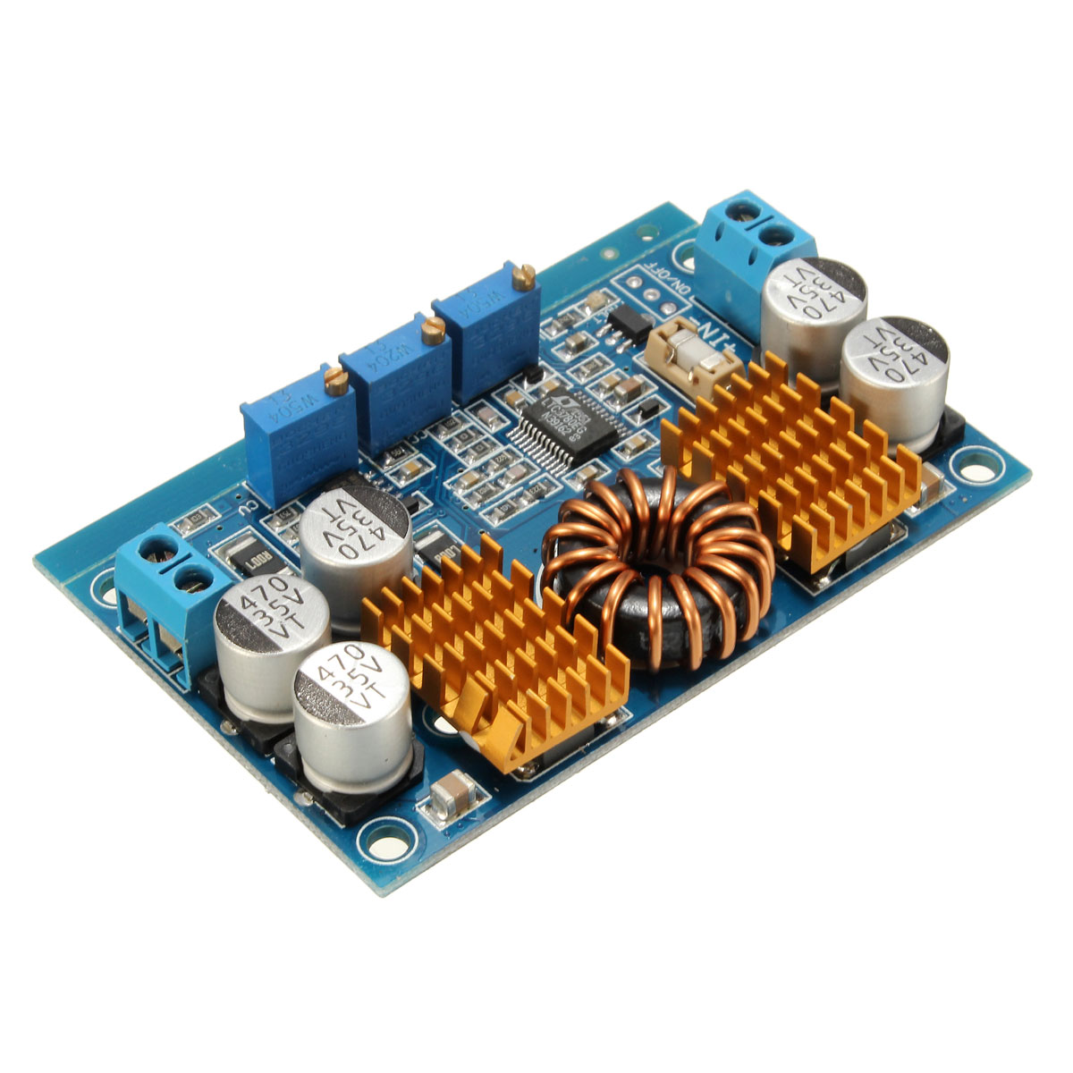 LTC3780 Automatic lifting pressure Constant voltage step up step down Board Module Inverters Converter 1pc ltc3780 constant voltage current power supply step up down automatic pressure lifting module dc5 32v