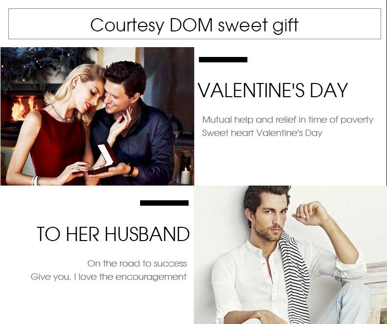 DOM: Reloj de pulsera de lujo para mujer 15