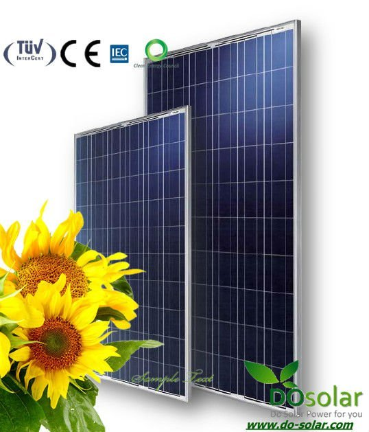 DHL Free Shiping--Best price supply POLY solar module 235 watt for solar panel system in  stock