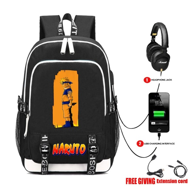 NEW NARUTO THEMED BACKPACK (23 VARIAN)
