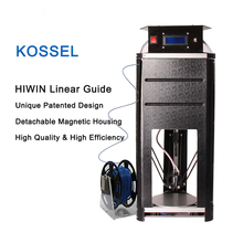 Kossel Professional Linear Rail Guide 3D Printer Kit Full Self-assembly DIY Delta Kit with Exquisite Detachable Magnetic Housing