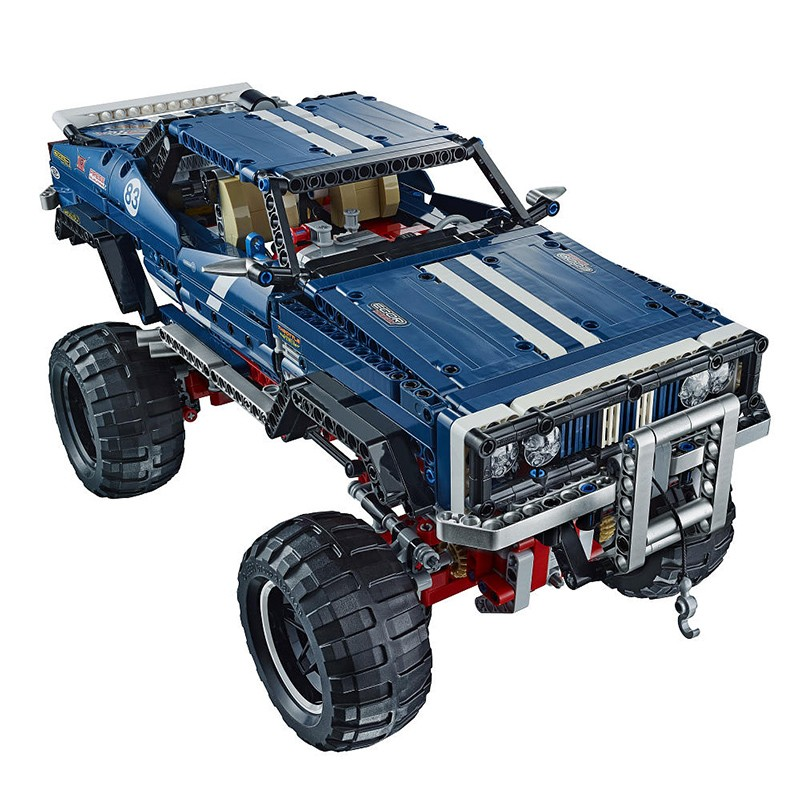 2016 New LEPIN 20011 1605Pcs Technic SUV 4x4 Crawler Exclusive Edition Model Building Kits Blocks Bricks Children Toy Gift 41999