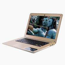 ZEUSLAP 14inch Intel Core i7 CPU Champagne Gold 8GB+120GB Windows 10 Pro 1920X1080P FHD Fast Run Laptop Notebook Computer