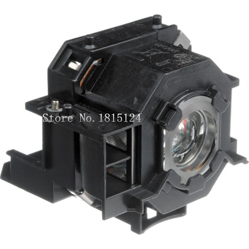 Epson ELPLP42 / V13H010L42 Lamp Original Replacement for Epson Powerlite 83C and 822C multimedia projectors. replacement original projector elplp88 lamp for epson powerlite s27 x27 w29 97h 98h 99wh 955wh and 965h projectors