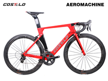 2018 Costelo Aeromachine monocoque one piece mould road bicycle carbon bike complete bicycle completo bicicletta