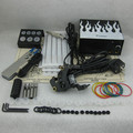 Kit de Tatuaje Profesional completa Set Tattoo Machine Gun Power Supply Apretón de La Aguja Consejo Combo Kit Set Supply TKS113 #