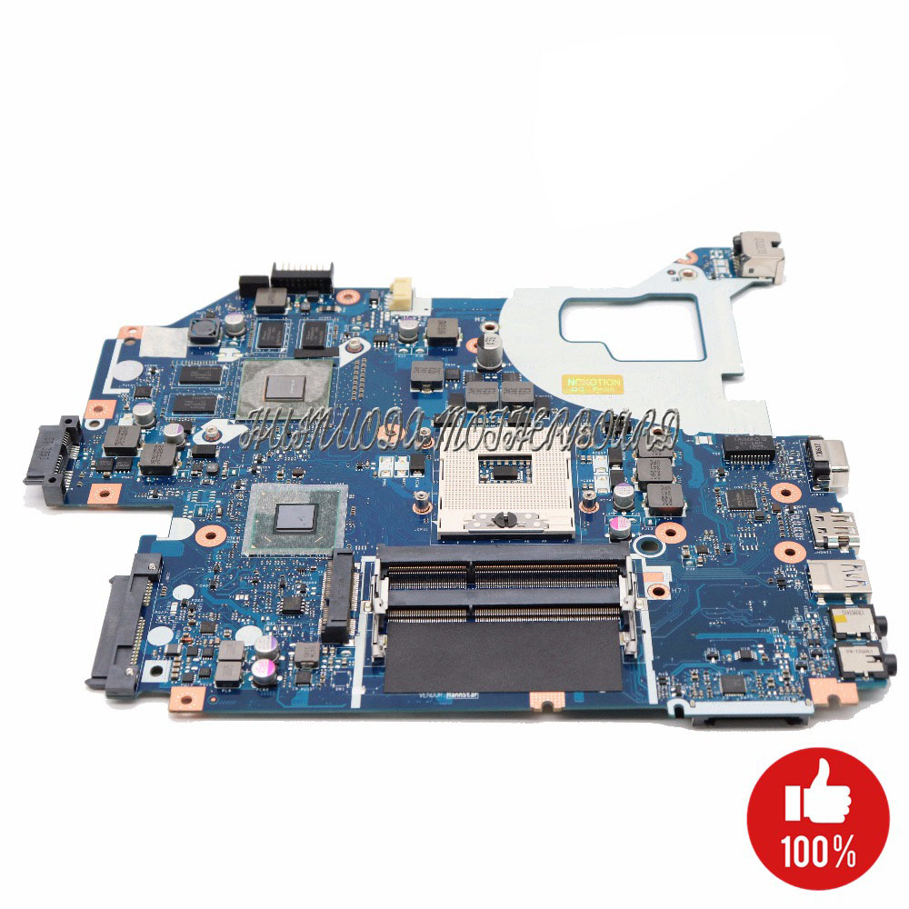 NOKOTION NBY1X11001 NBRZK11001 Motherboard For Acer aspire V3-571 V3-571G Laptop MAIN BOARD NBRZP11001 Q5WVH LA-7912P GT640M 2GBNOKOTION NBY1X11001 NBRZK11001 Motherboard For Acer aspire V3-571 V3-571G Laptop MAIN BOARD NBRZP11001 Q5WVH LA-7912P GT640M 2GB