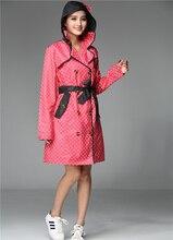 biodegradable waterproof nylon colorful fashionable stylish women rains jacket pocket rain coat hooded with handbag
